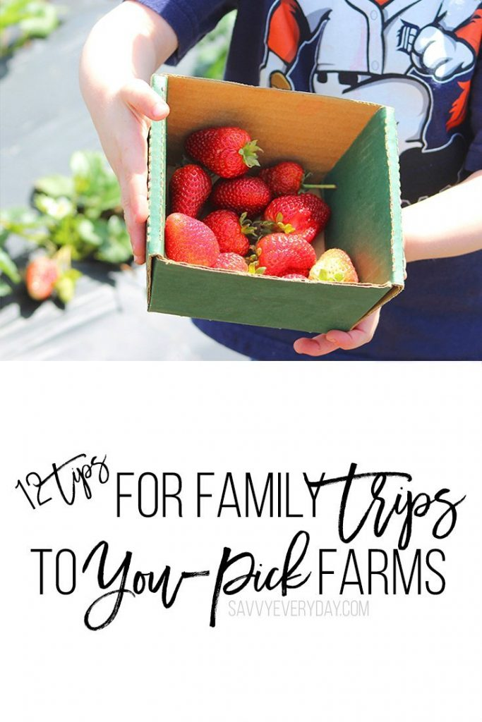 12 tips for you pick farms