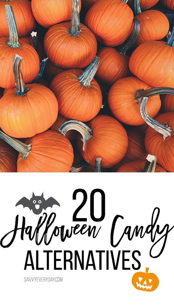 20 Halloween Candy Alternatives