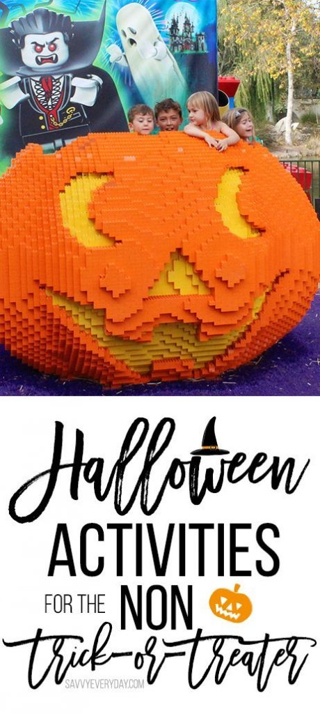 Halloween Activities For the Non Trick Or Treater
