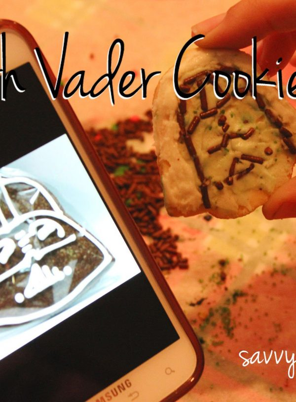 Darth Vader Cookie Fails