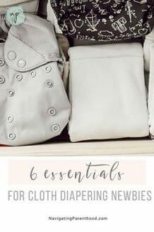 6 Essentials for the Cloth Diaper Newbie