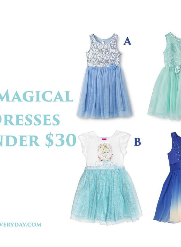 4 Magical Girls' Dresses For The Release of Cinderella