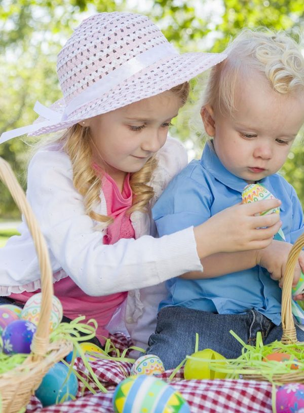 4 Gender Neutral Easter Baskets For Toddlers & Preschoolers