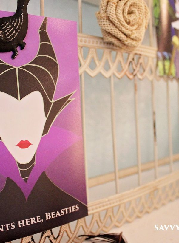 A Maleficent Themed 4th Birthday Party