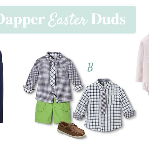 Dapper Easter Duds For Boys