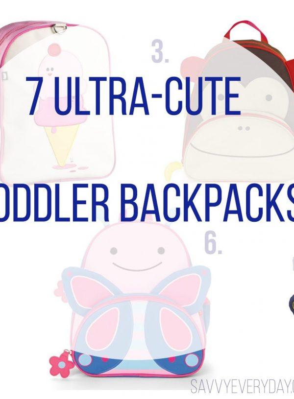 7 Ultra-Cute Toddler Backpacks