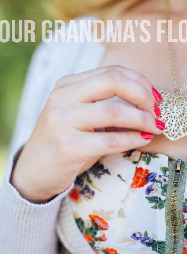 Mama Style: Not Your Grandma's Florals
