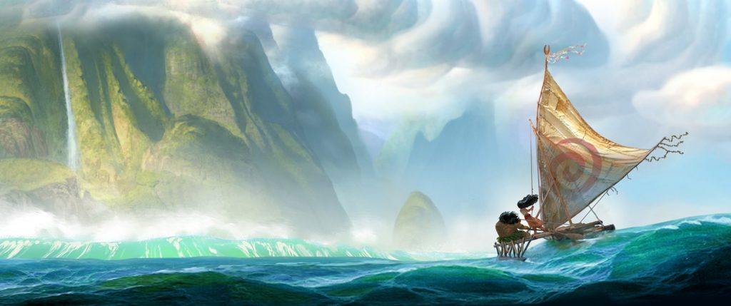 """From Walt Disney Animation Studios comes """"Moana,"""" a sweeping, CG-animated comedy-adventure about a spirited teenager on an impossible mission to fulfill her ancestors' quest. Disney. All Rights Reserved."""