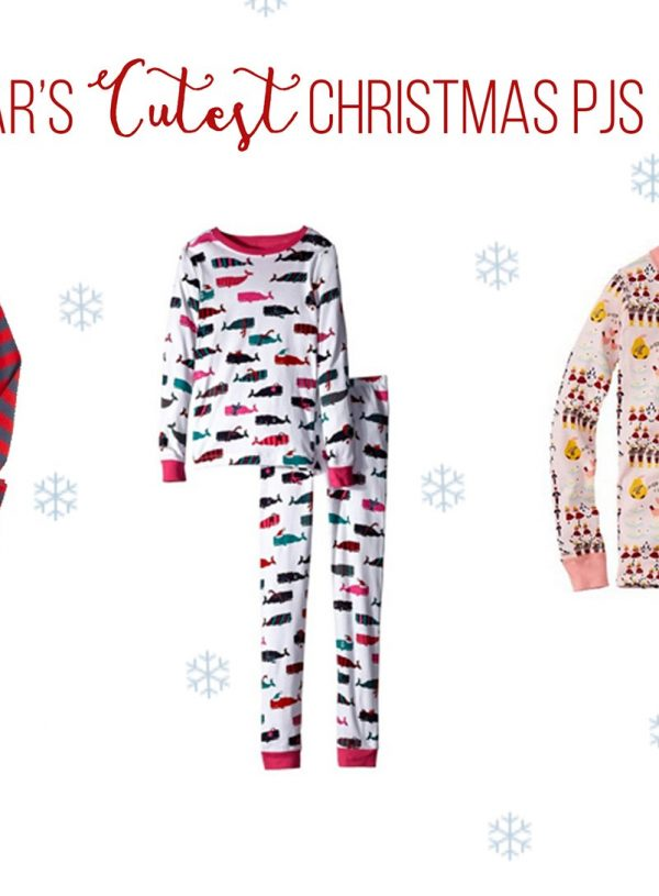 This Christmas' Cutest Kids PJs