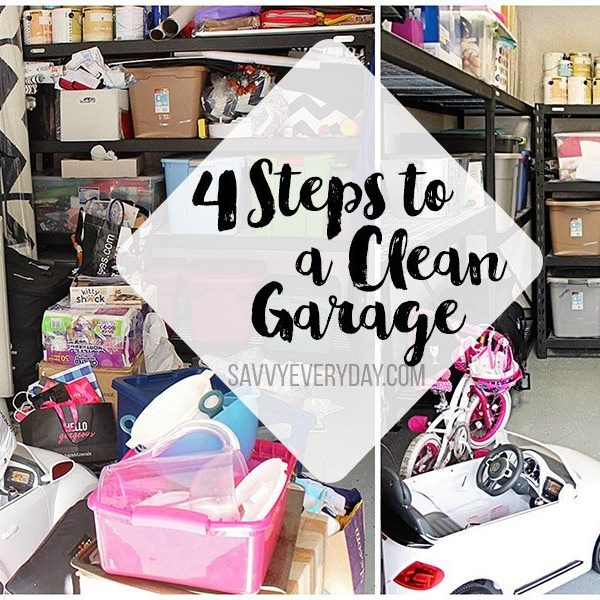 4 Steps to a Clean and Organized Garage
