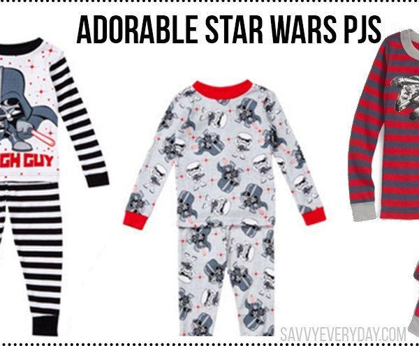 9 Christmas PJs For Your Little Star Wars Fan