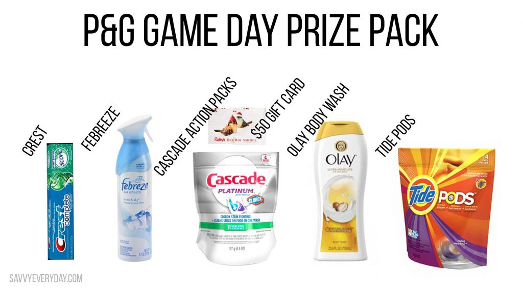 Collage showing all of the items you can win in the prize pack