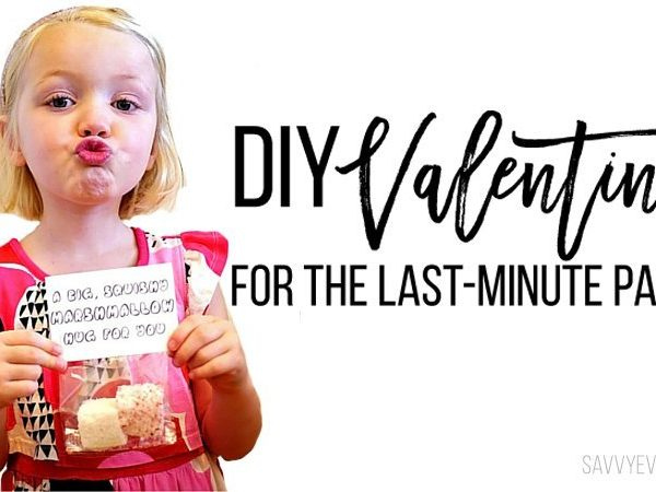 DIY Valentines For the Last-Minute Parent