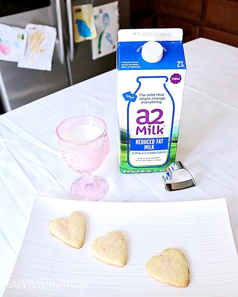 a2 heart cookies