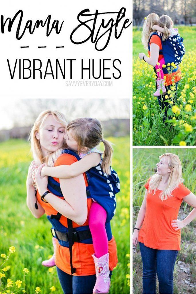 vibrant hues mama style