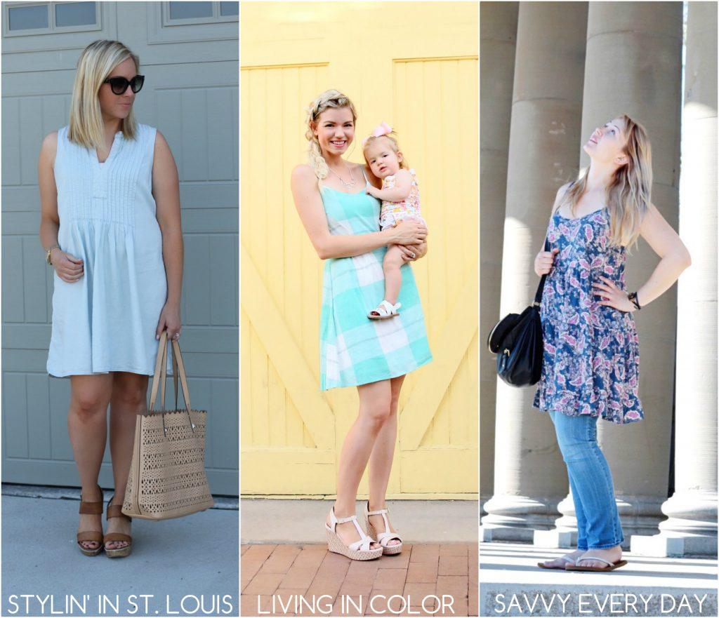 Collage - summer dresses