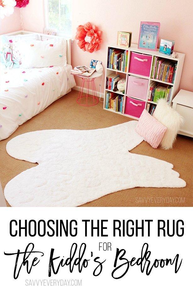 Kids Room Redo- Choosing the Right Rug