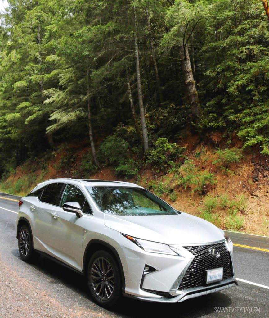 Lexus RX 350 on the road