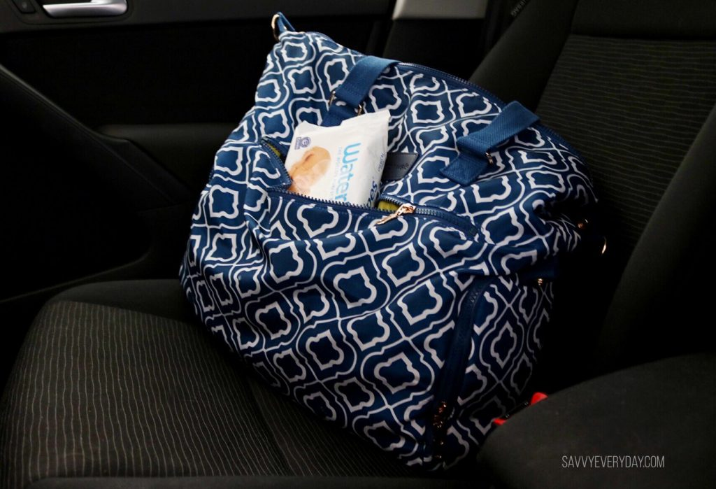 purse in car