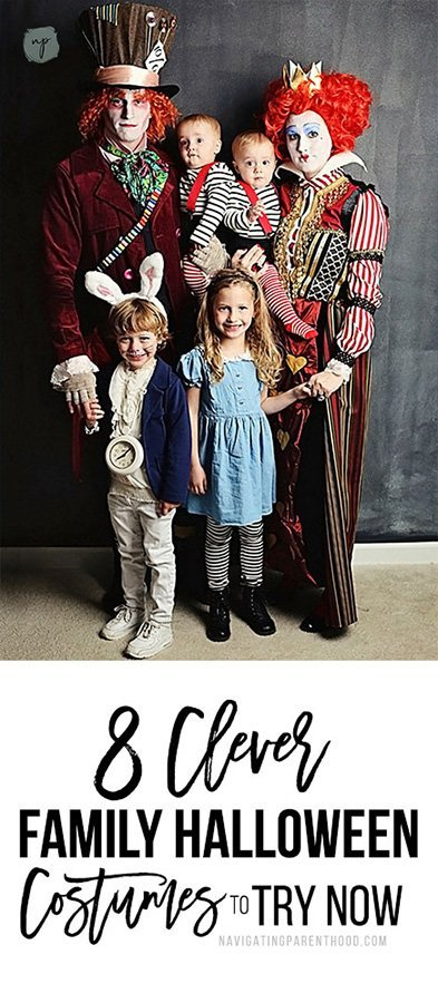 8 clever family Halloween costumes