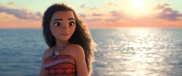 MOANA looking at the ocean
