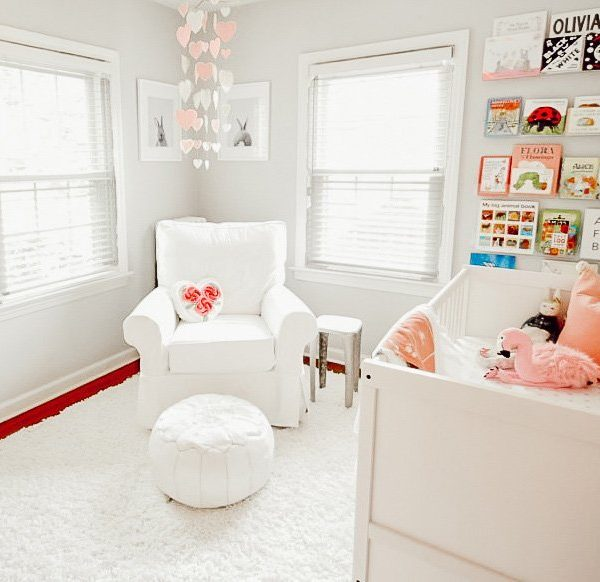 Dreamy Un-Themed Alice in Wonderland Nursery