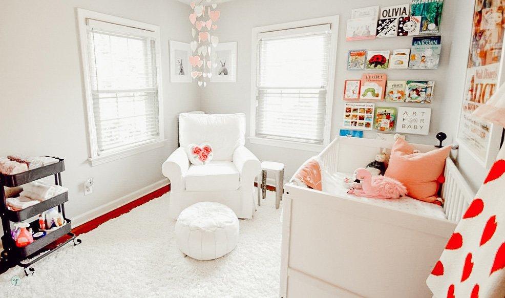 Alice in Wonderland inspired nursery