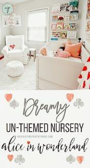 Dreamy Un-Themed Alice in Wonderland Nursery