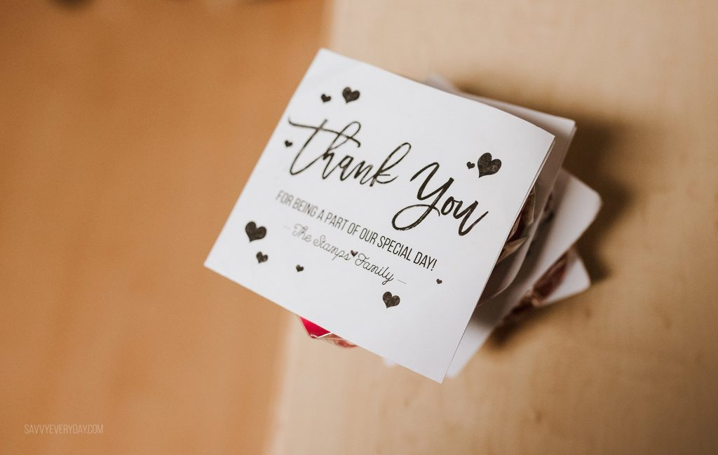 birth plan thank you notes