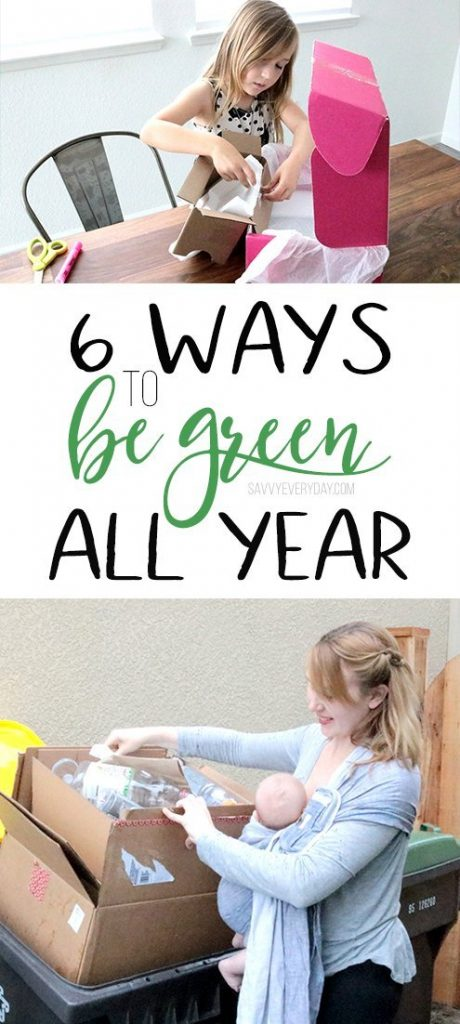 6 Ways to Be Green All Year