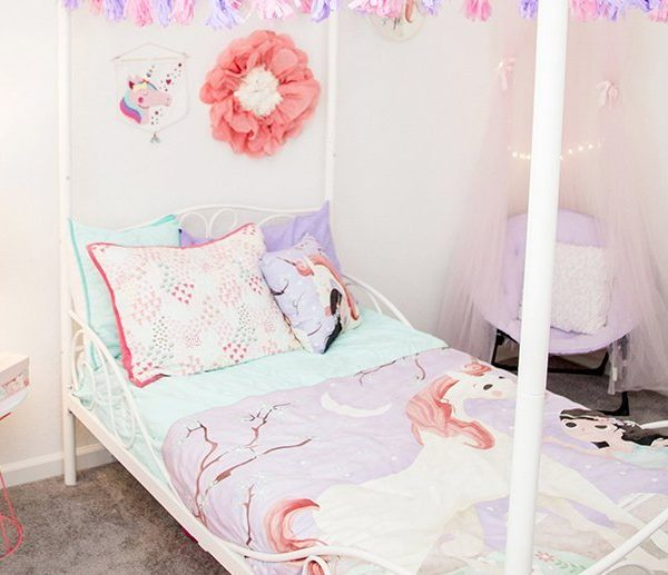 Whimsical Unicorn Bedroom Inspired by Mouse + Magpie