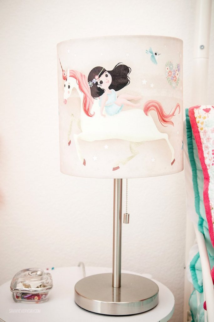 Magical Unicorn Ride Collection lamp