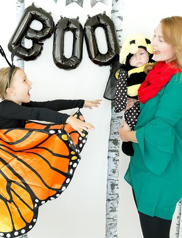 Easy Flower, Butterfly & Bee Family Costume