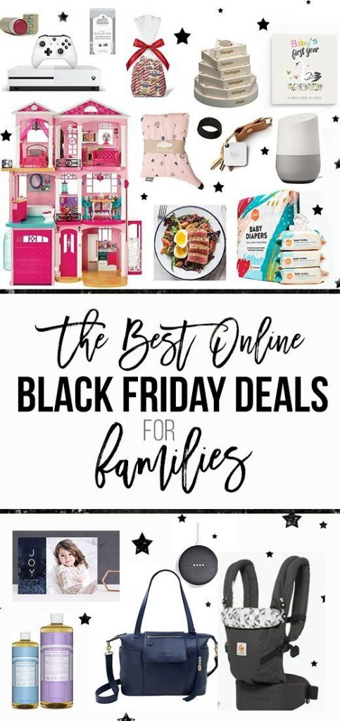 The Best Online Black Friday Deals for Families