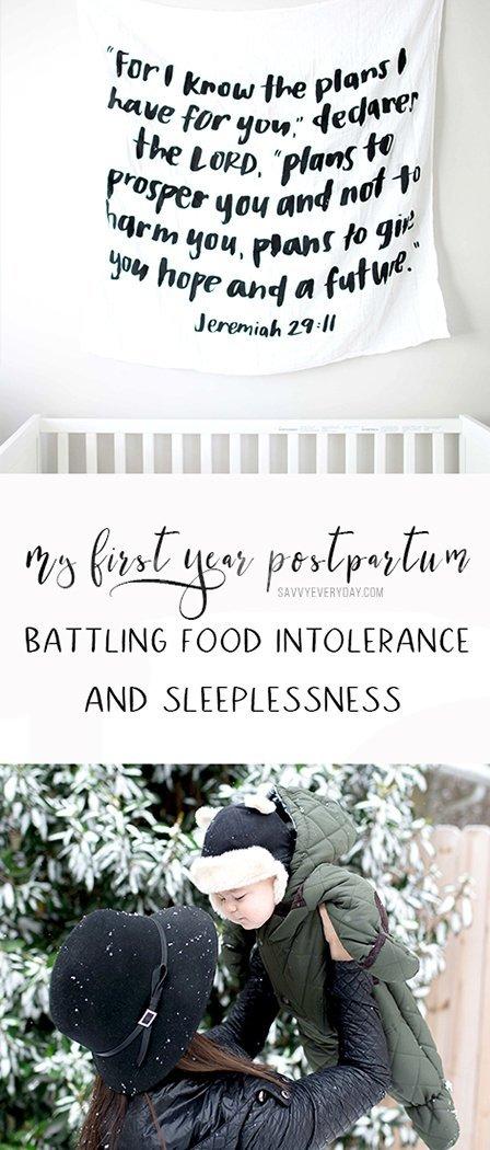 Melissa shares her postpartum breastfeeding and sleeplessness struggle.