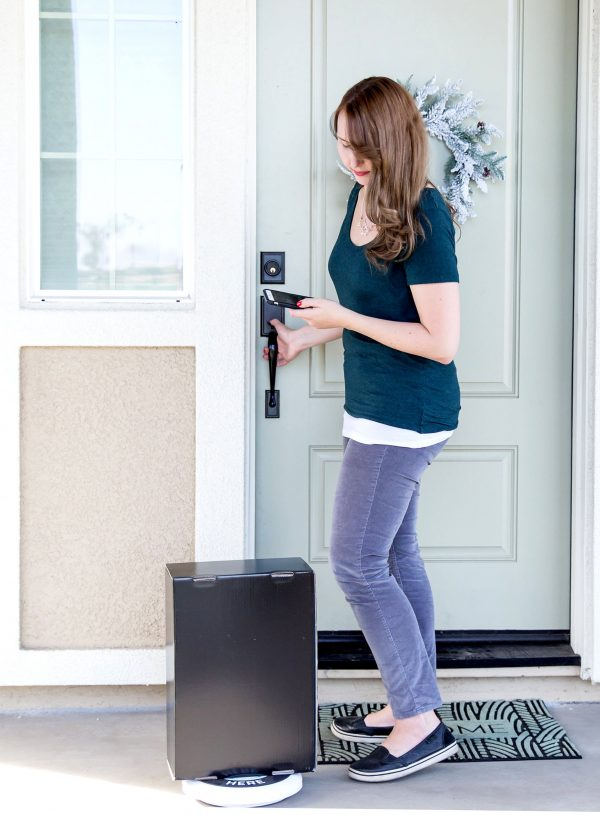 Looking at front porch package