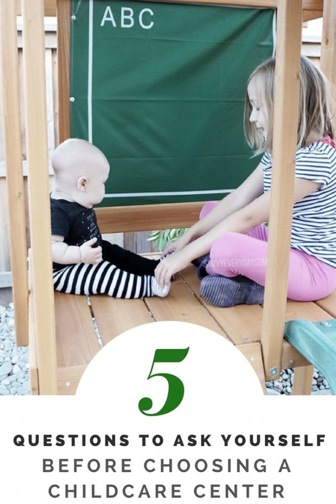5 questions to ask yourself before choosing a childcare center