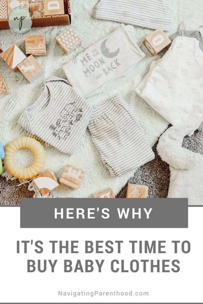 Here's Why It's the Best Time to Buy Baby Clothes