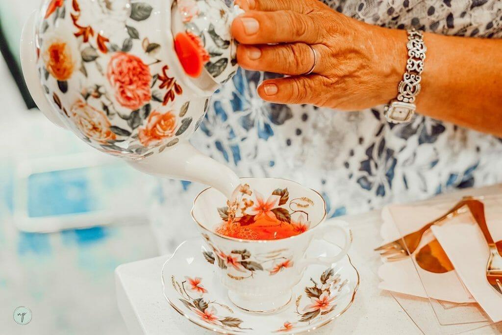 mother blessing tea