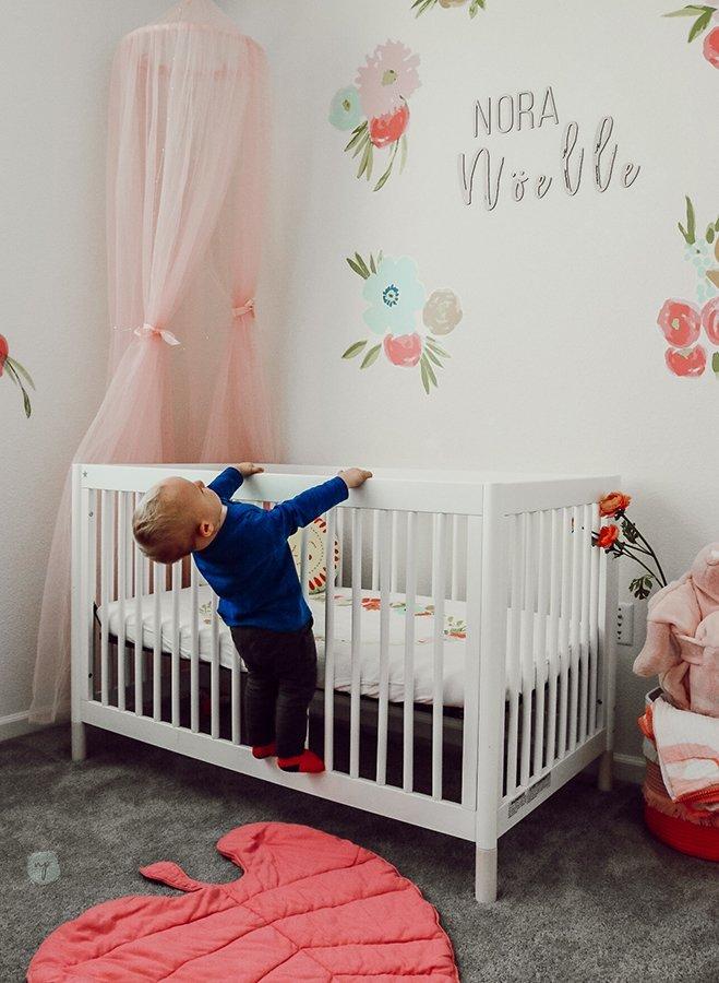 river climbing Nora's crib