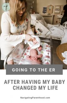 Being Admitted to the ER in Postpartum Changed My Life