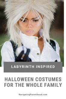 This Family\'s Labyrinth Halloween Costumes Win the Internet