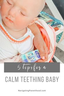 5 Tips for a Cool & Calm Teething Baby
