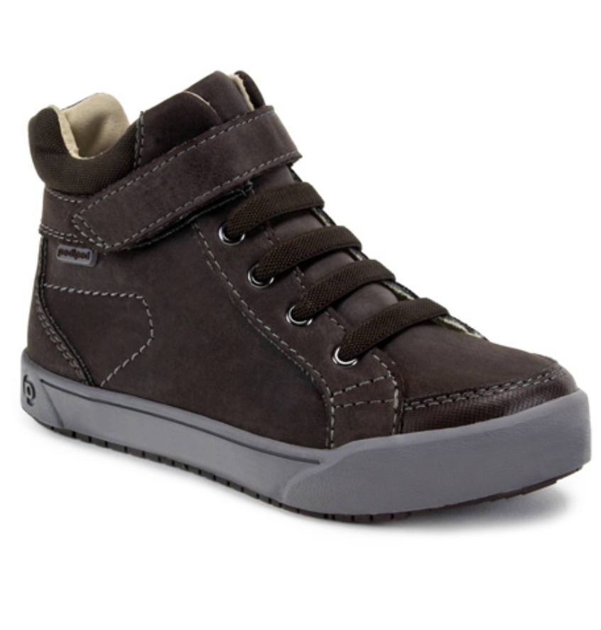 PediPed toddler shoes flex logan in chestnut
