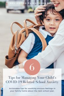 6 Tips for Managing Your Child\'s School Anxiety