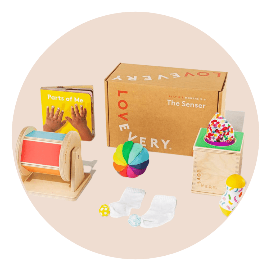 Lovevery Play Kits baby registry gift list