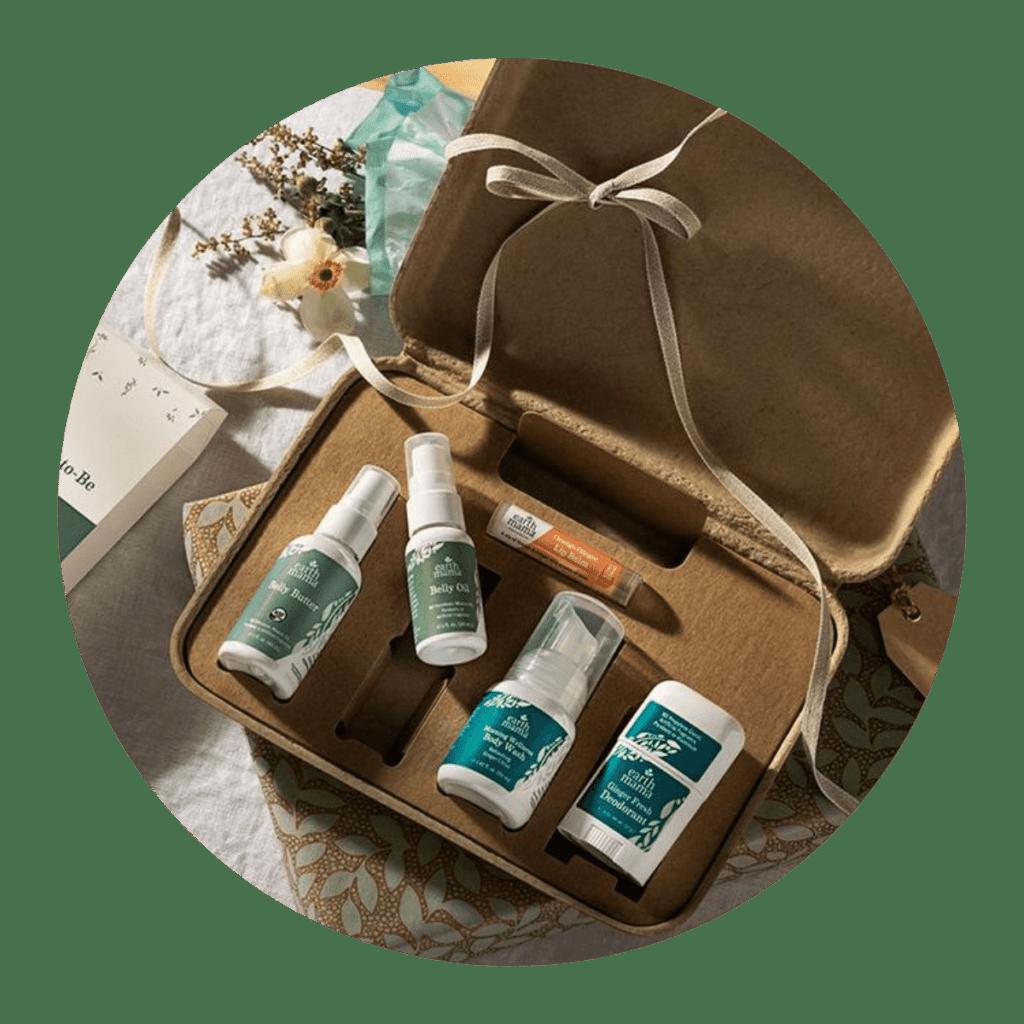 Earth Mama baby registry gift set