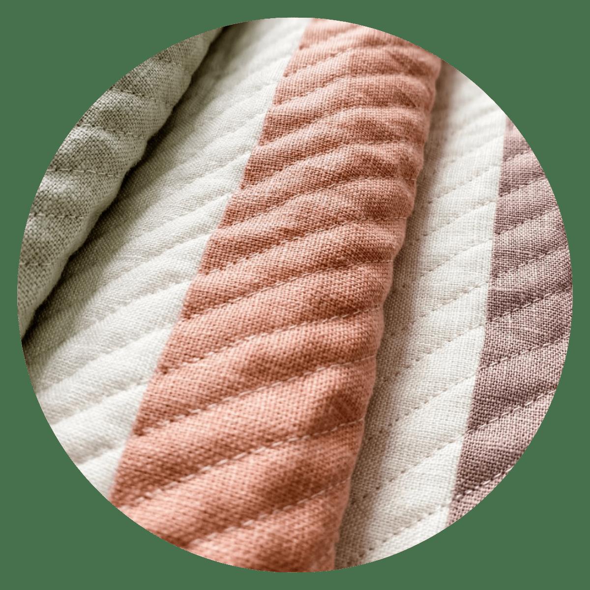 baby linen quilt