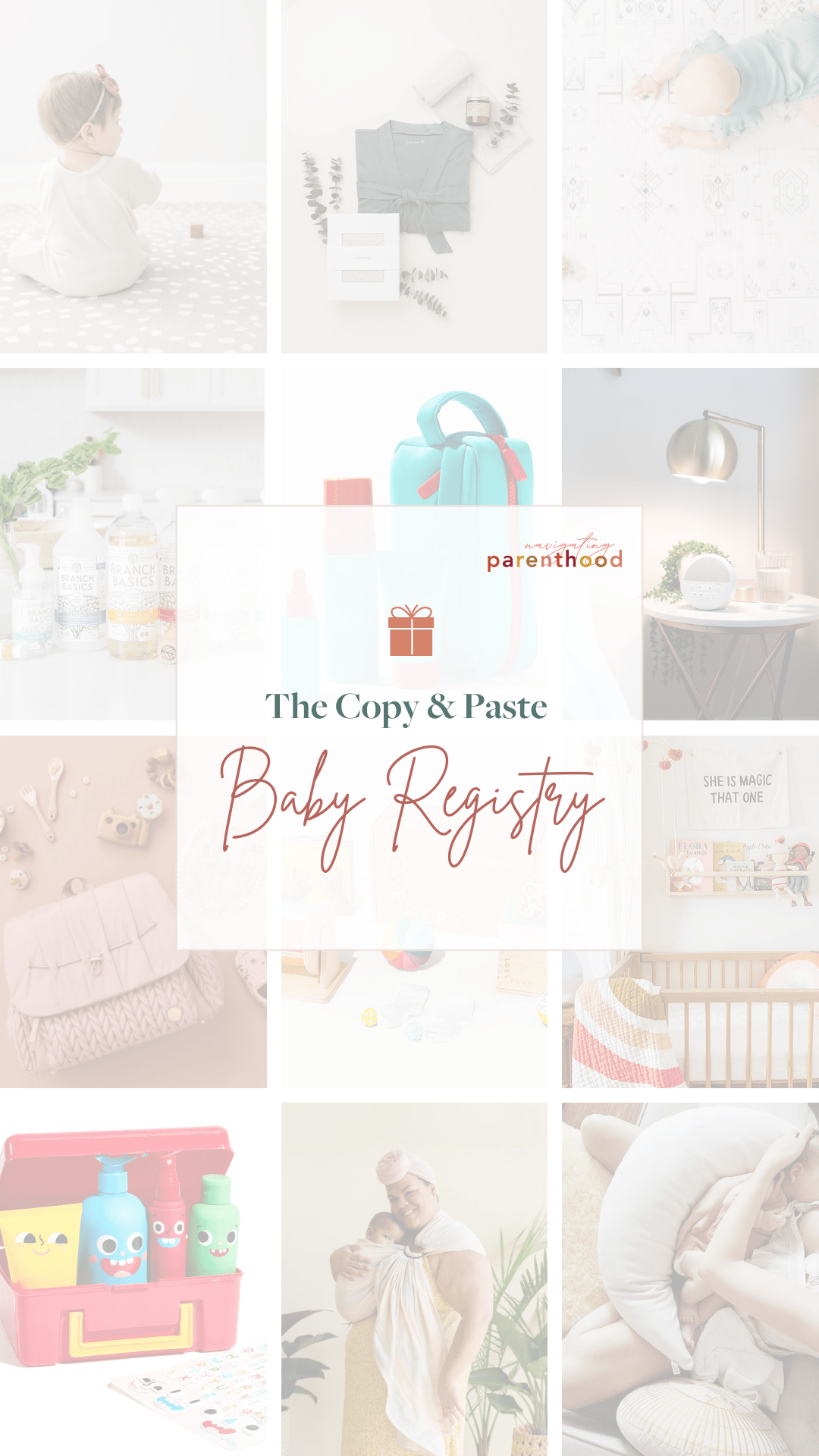 The Copy & Paste Baby Registry